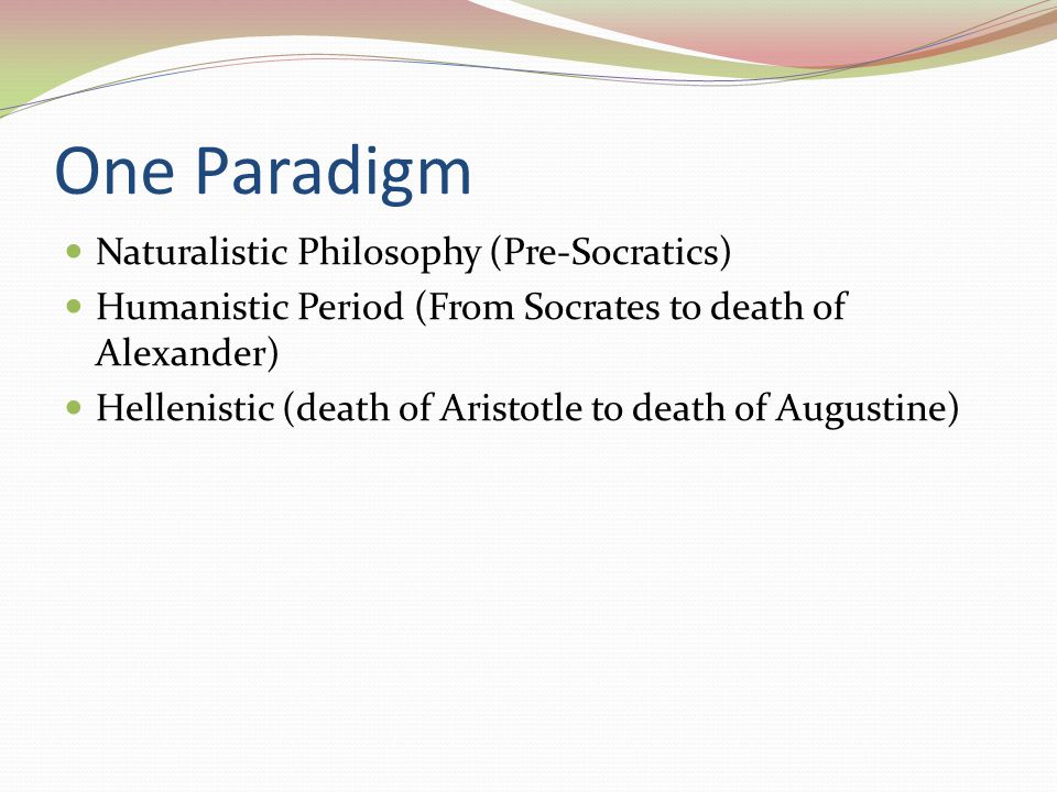 Stoic Metaphysics Materialism – everything is matter in motion Pantheism – the matter is divine Heraclitianism – there is a cosmic fire behind it all Fatalism – not to be confused with Calvinism Christian determinist believe that ends and means should not be separated