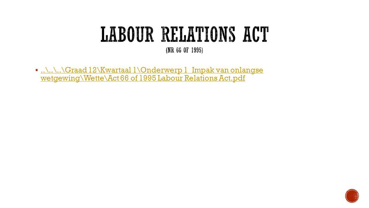 ..\..\..\Graad 12\Kwartaal 1\Onderwerp 1_Impak van onlangse wetgewing\Wette\Act 66 of 1995 Labour Relations Act.pdf..\..\..\Graad 12\Kwartaal 1\Onderwerp 1_Impak van onlangse wetgewing\Wette\Act 66 of 1995 Labour Relations Act.pdf