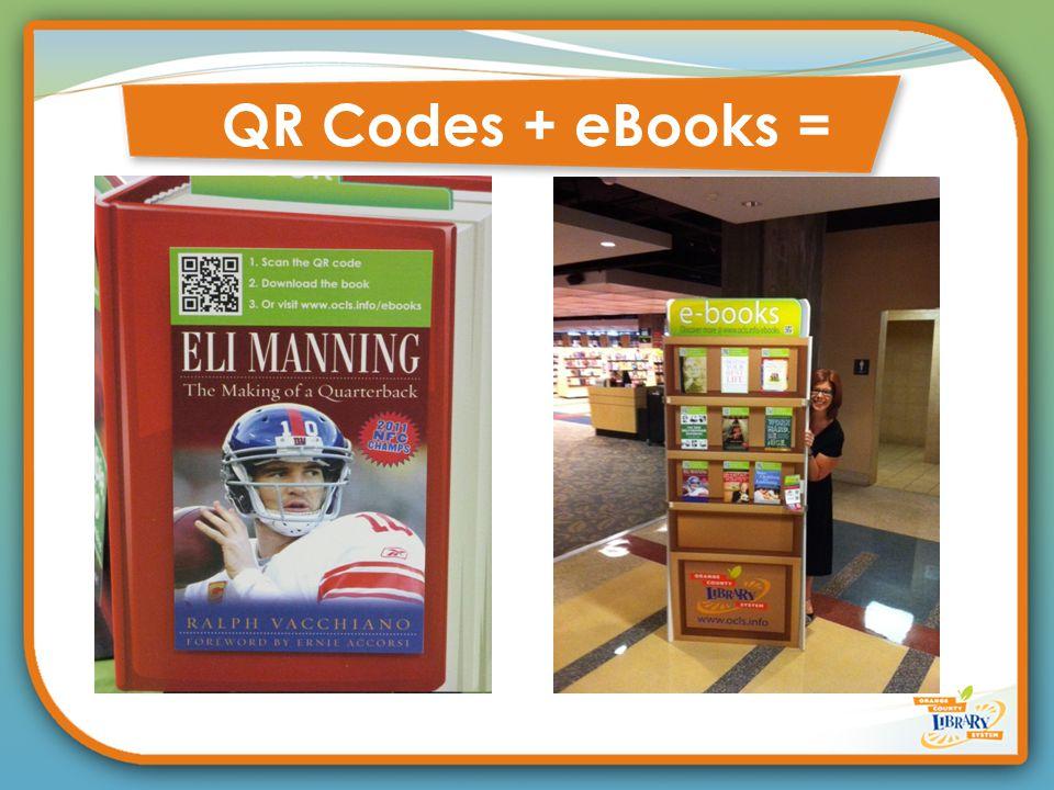 QR Codes + eBooks =