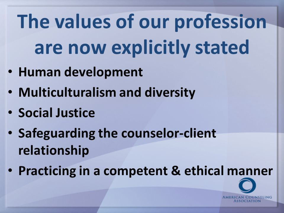 Raising the bar for professional values 24