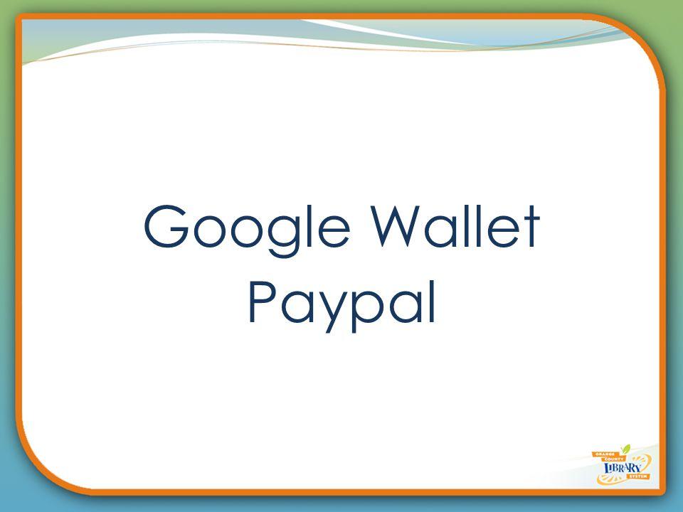 Google Wallet Paypal