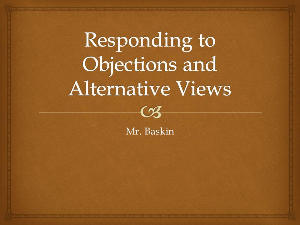 Mr. Baskin