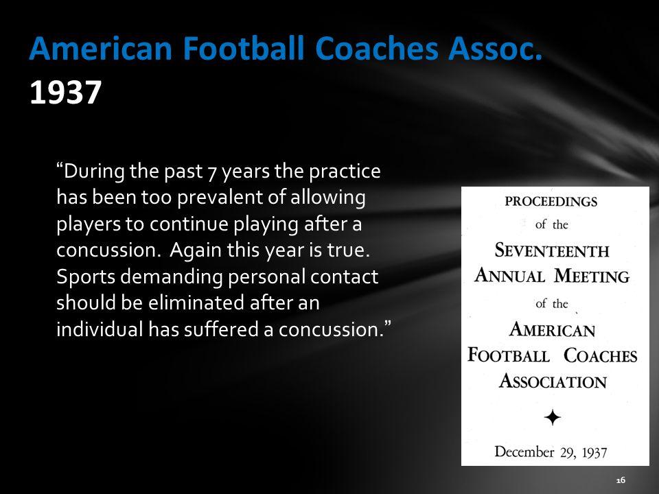 American Football Coaches Assoc.