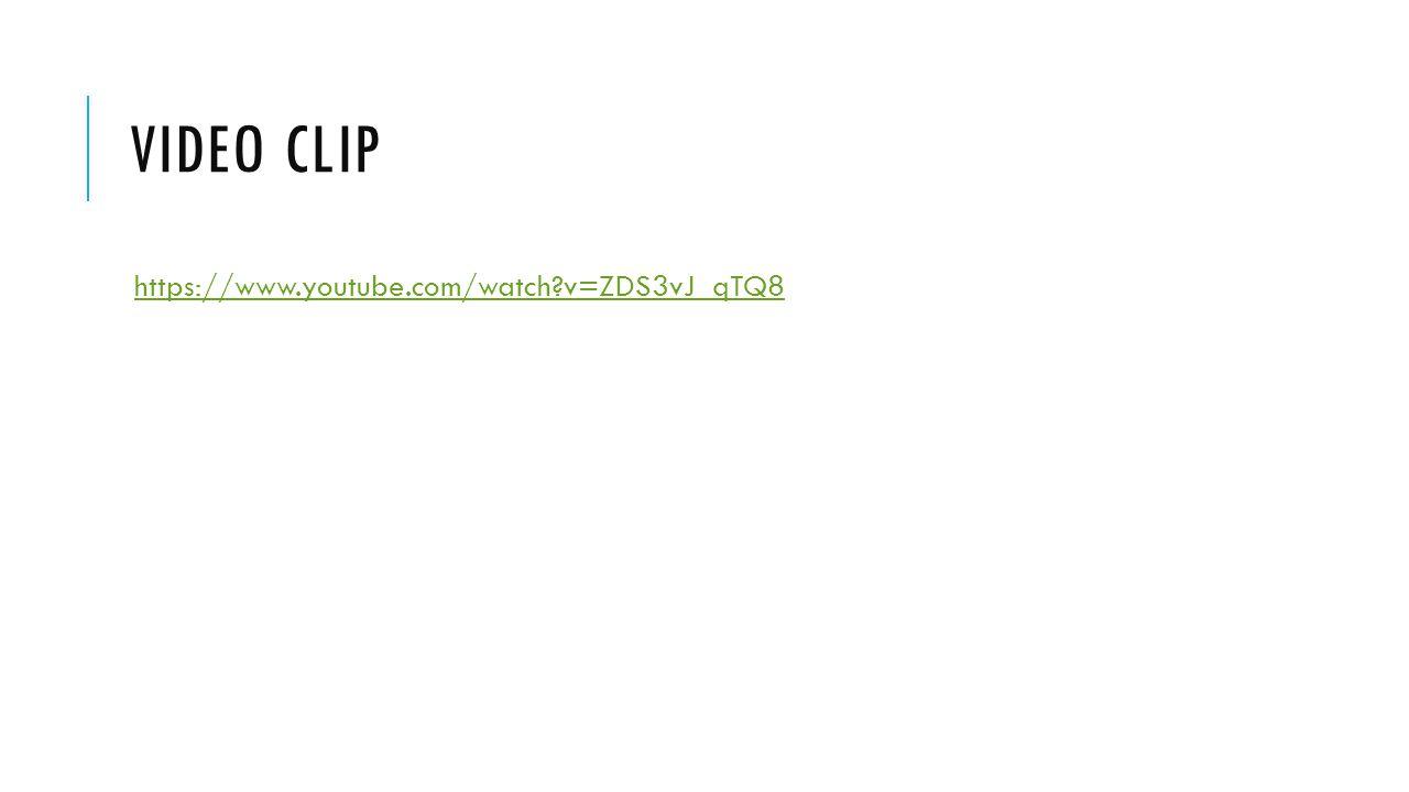 VIDEO CLIP https://www.youtube.com/watch?v=ZDS3vJ_qTQ8