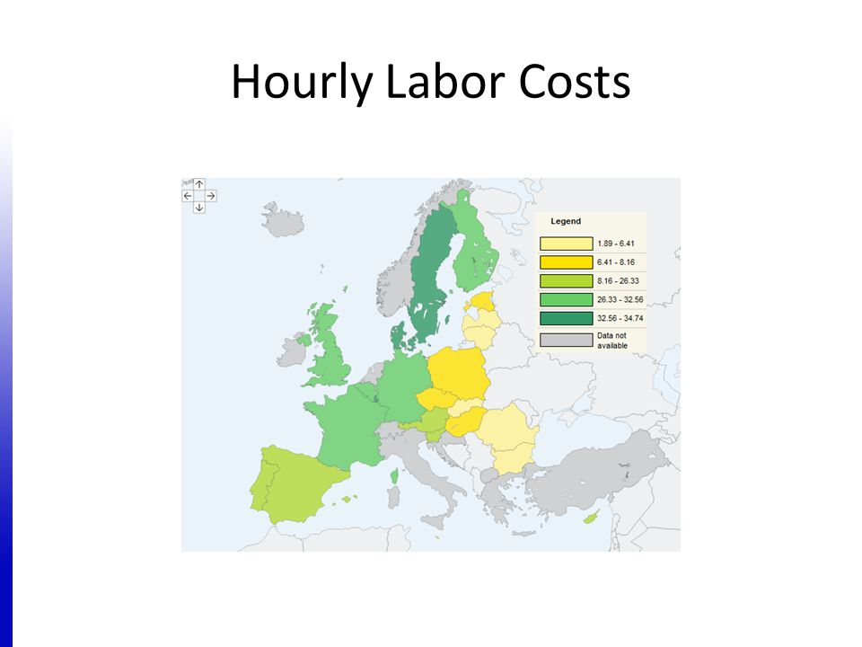 Hourly Labor Costs