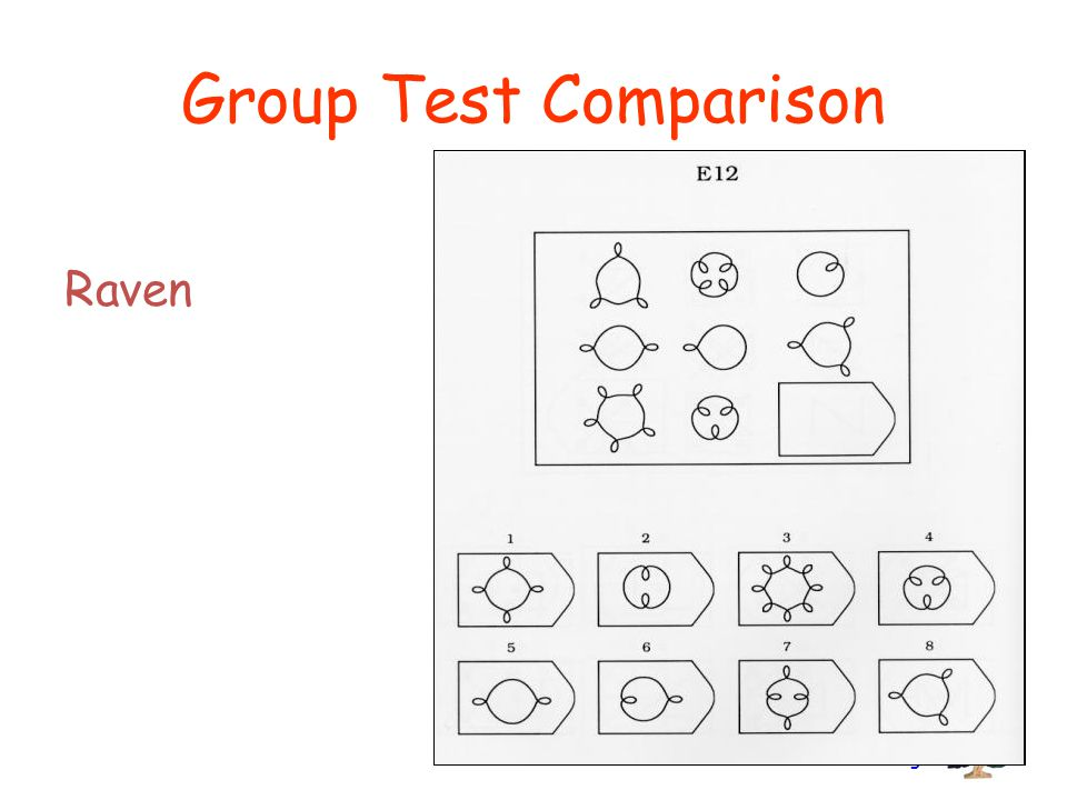 Branch Consulting Group Test Comparison Raven
