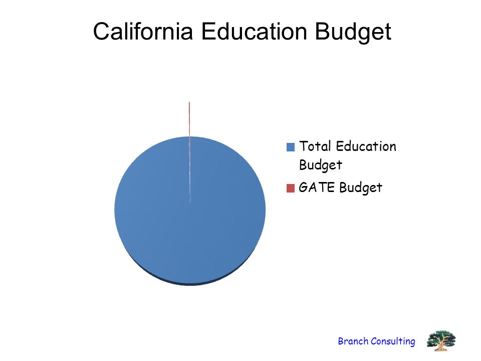 Branch Consulting California Education Budget