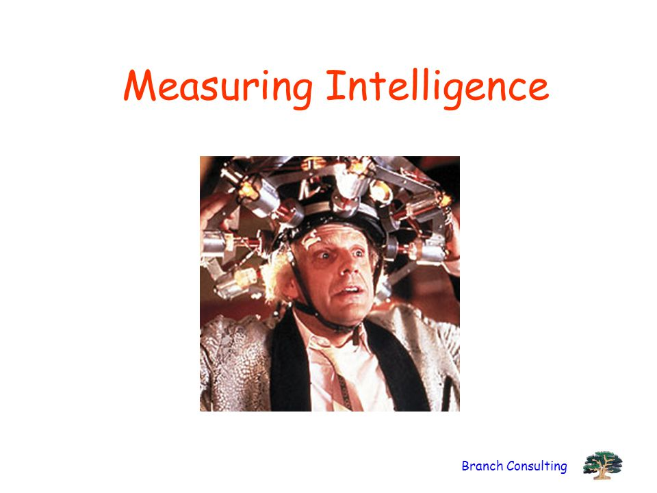 Branch Consulting Measuring Intelligence