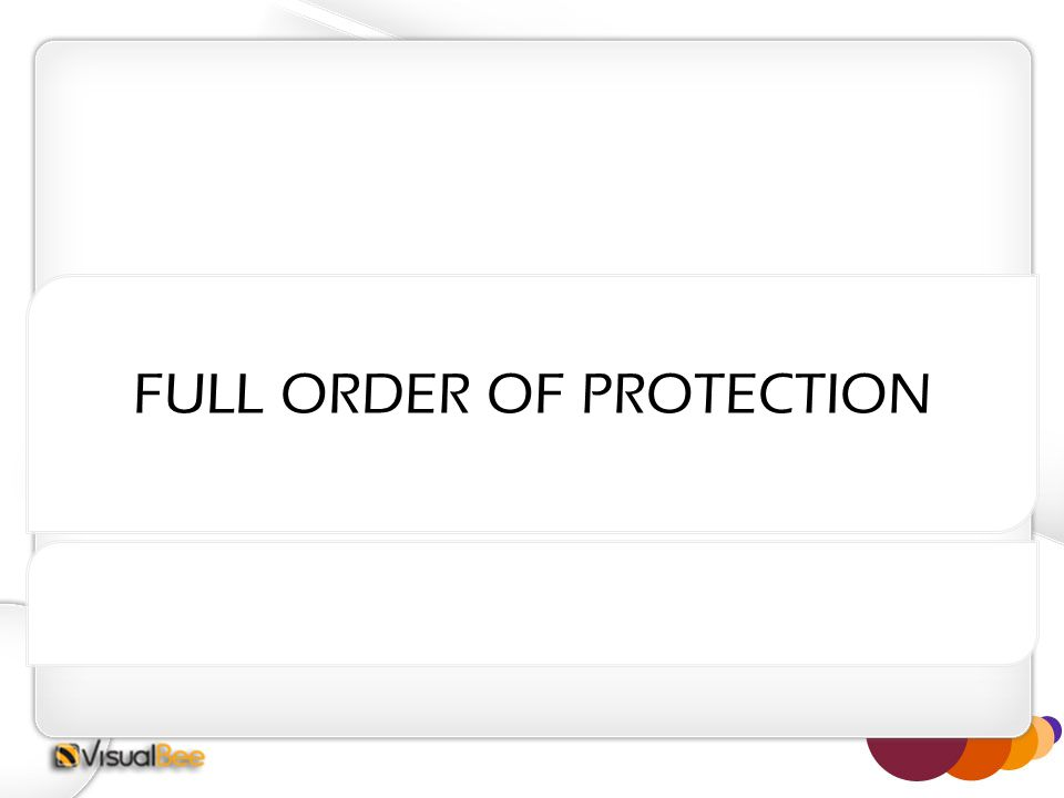 FULL ORDER OF PROTECTION
