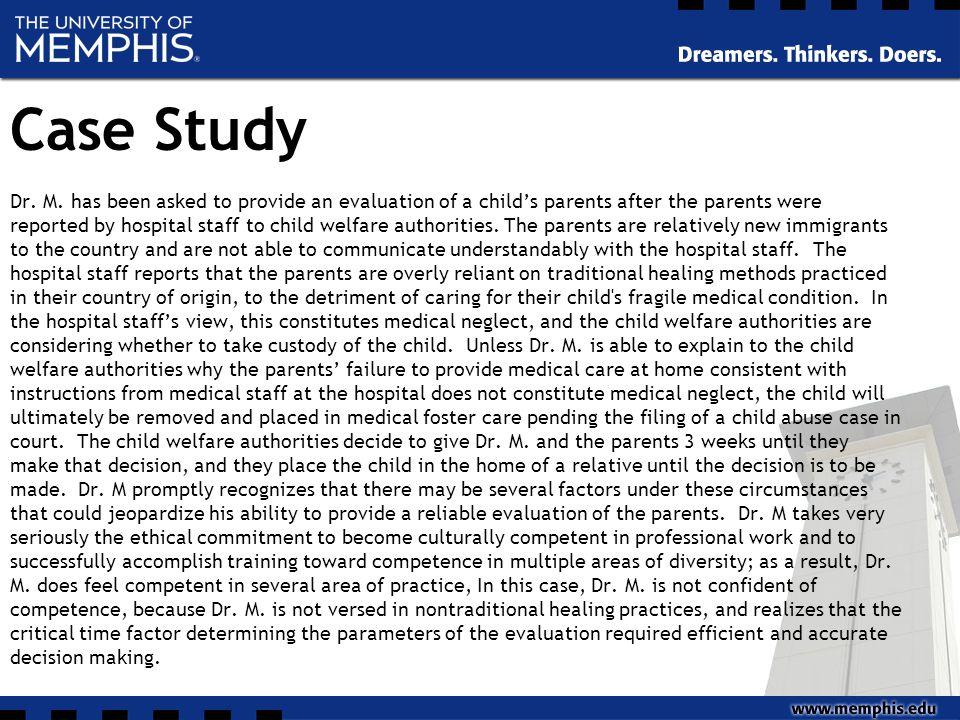 Case Study Dr. M.