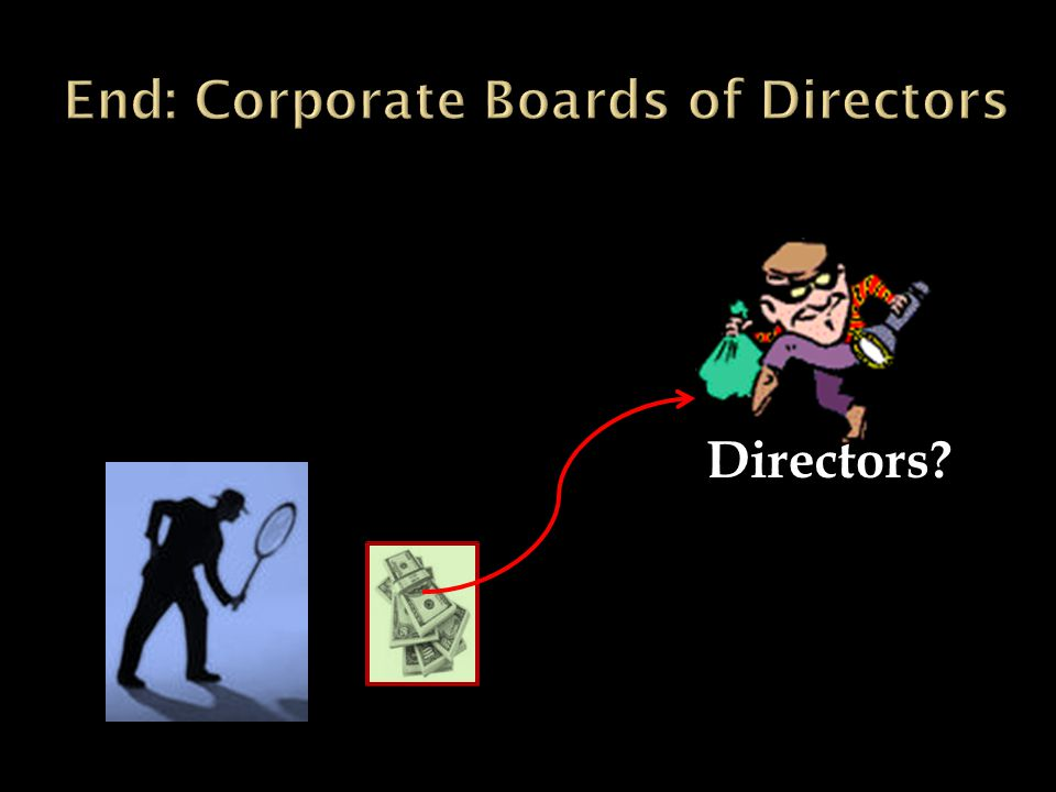  1. Number of directors  2. Number of insiders on the board  3.