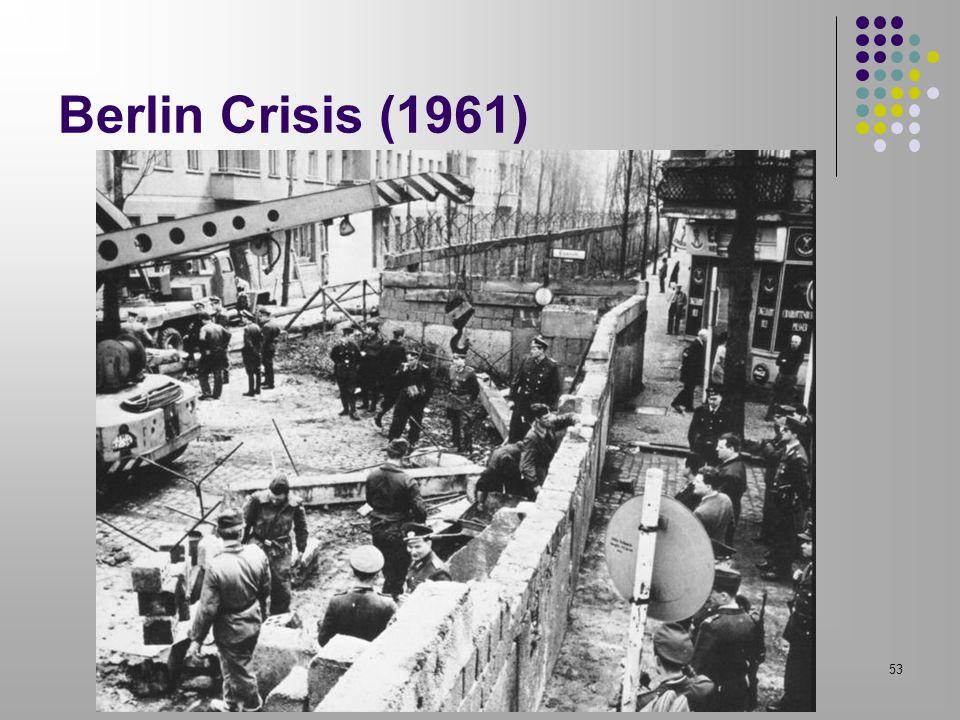 Berlin Crisis (1961) 53