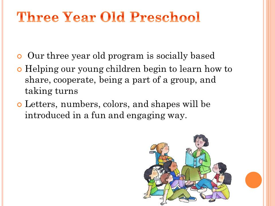This year we have a new book series for the three year old program.
