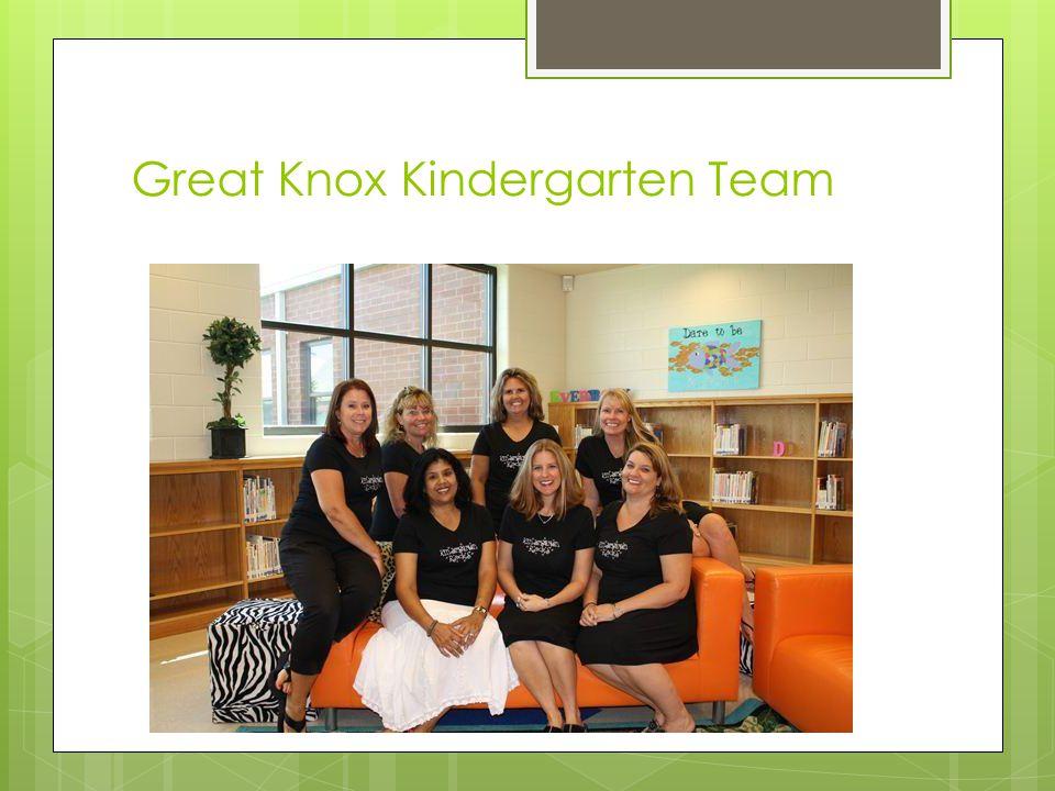 Great Knox Kindergarten Team