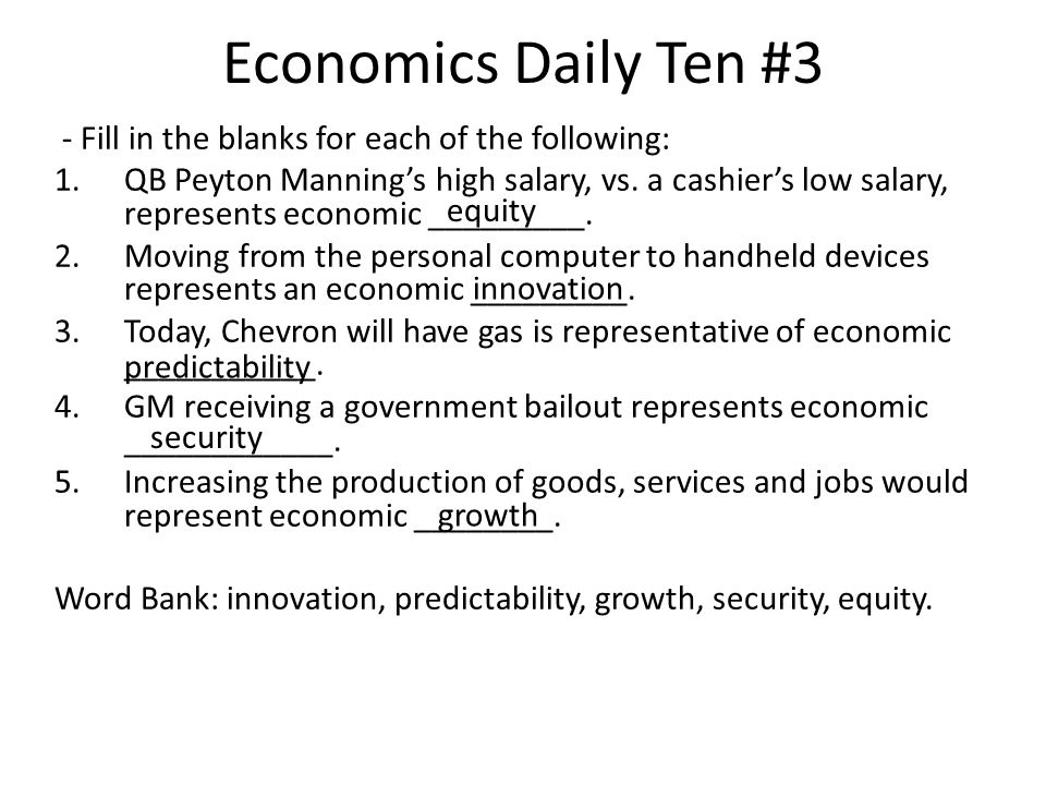 Economics Daily Ten # 10 Exposure to second hand smoke would be an example of a a.