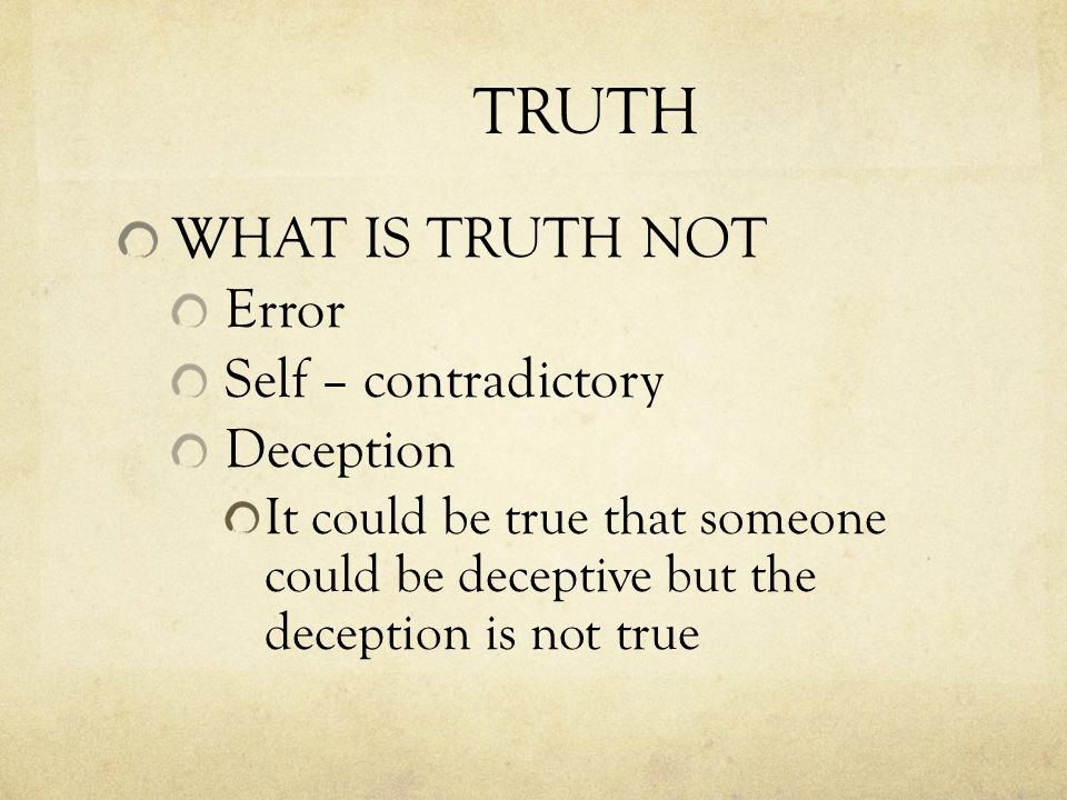 RELATIVISM Lets look at claims and responses Something can be true for you, but not necessarily for me. This is an example of a Self- Defeating Fallacy It contradicts itself, so it must be false So What if that isnt true for me?