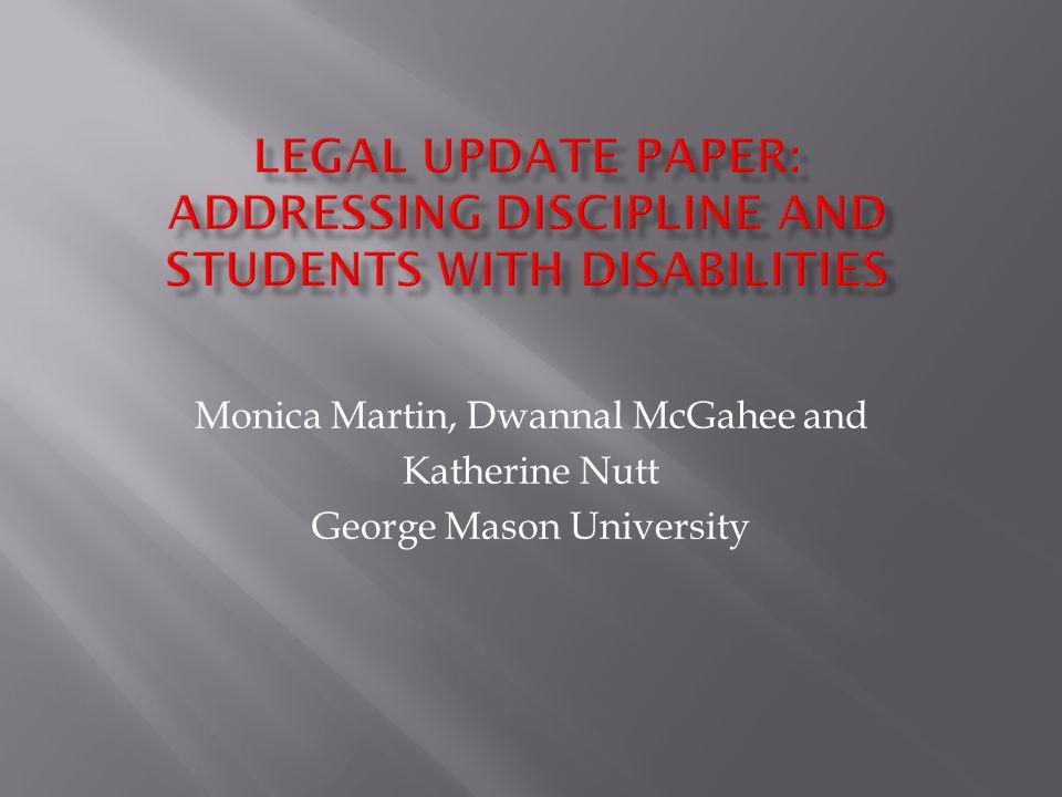 Monica Martin, Dwannal McGahee and Katherine Nutt George Mason University