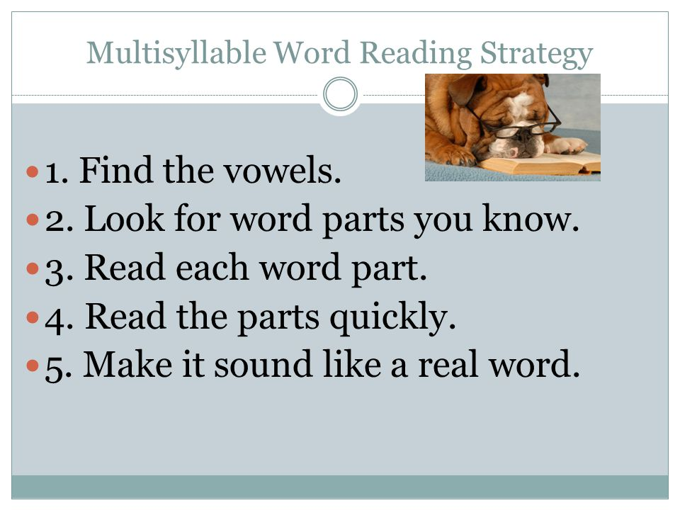 The Vocabulary Strategy 1. Look for CONTEXT CLUES.
