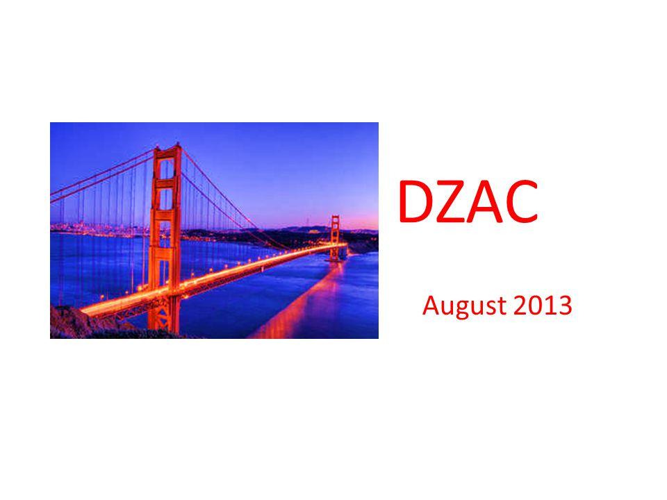 DZAC August 2013