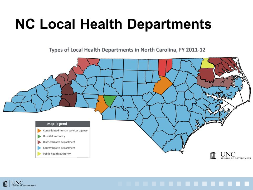 NC Local Health Departments