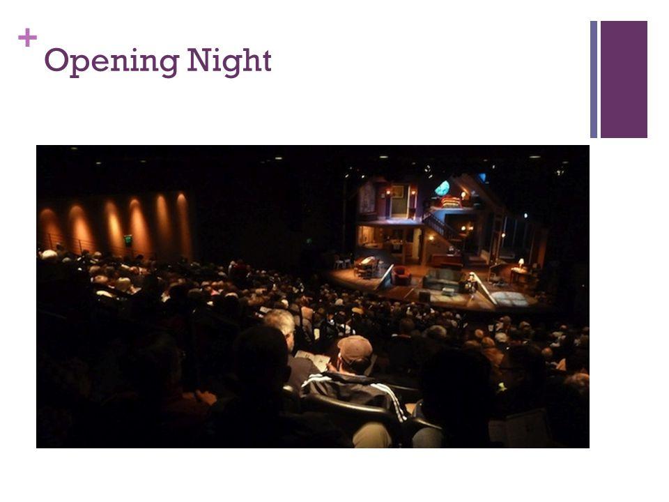 + Opening Night