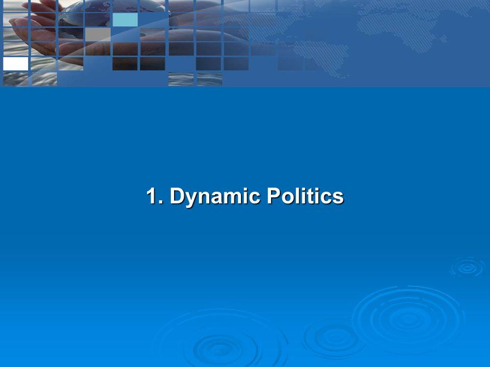 1. Dynamic Politics
