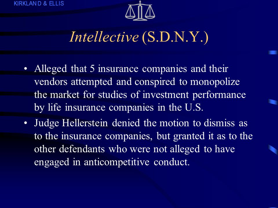 Recent District Court Decisions (cont.4) Floors-N-More, Inc.