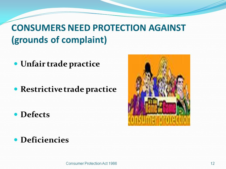 Contd - The following are also considered as a consumer and hence they may file a complaint.
