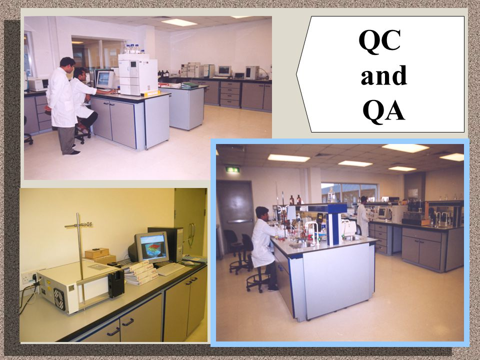 QC and QA
