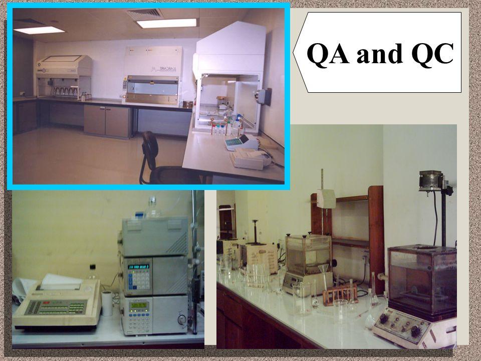 QA and QC