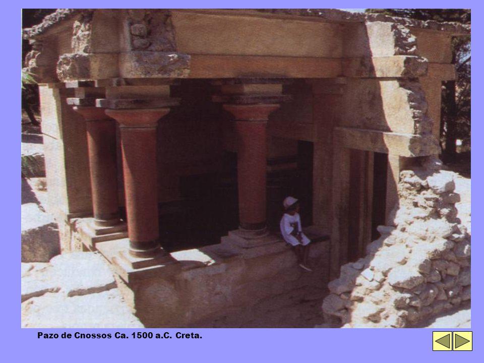 Pazo de Cnossos Ca. 1500 a.C. Creta.