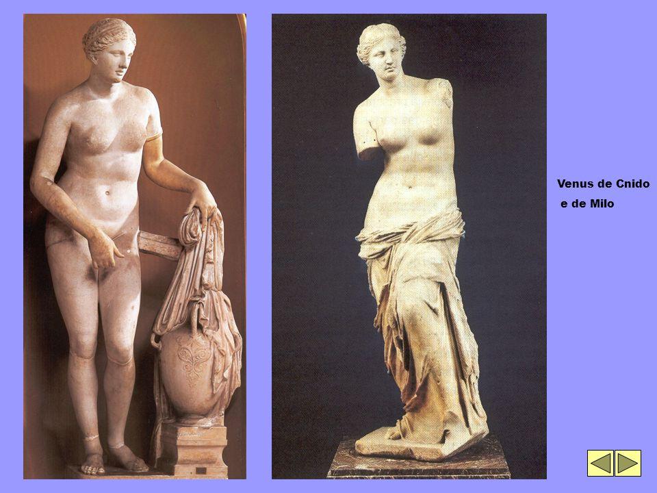 Venus de Cnido e de Milo