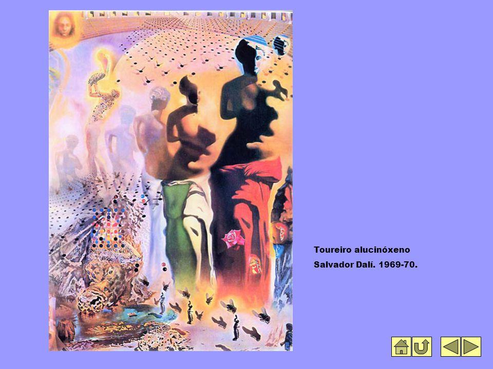 Toureiro alucinóxeno Salvador Dalí. 1969-70.
