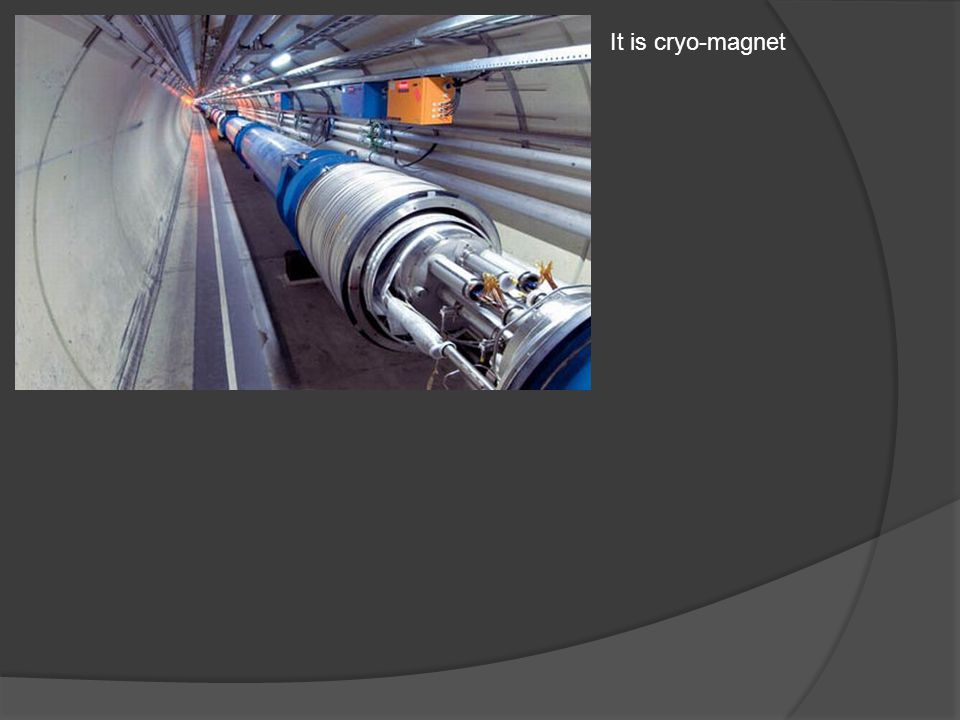It is cryo-magnet