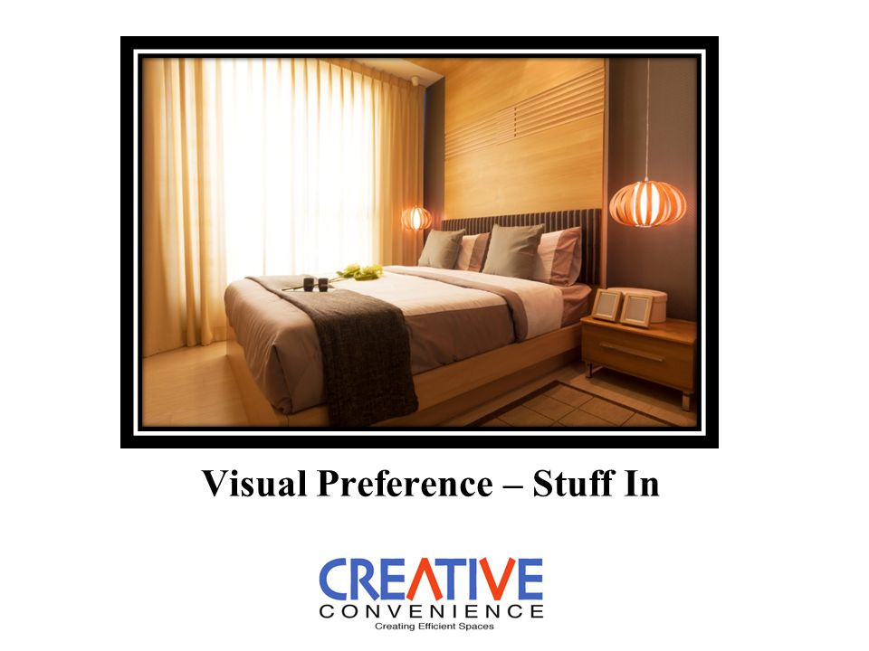 Visual Preference – Stuff In