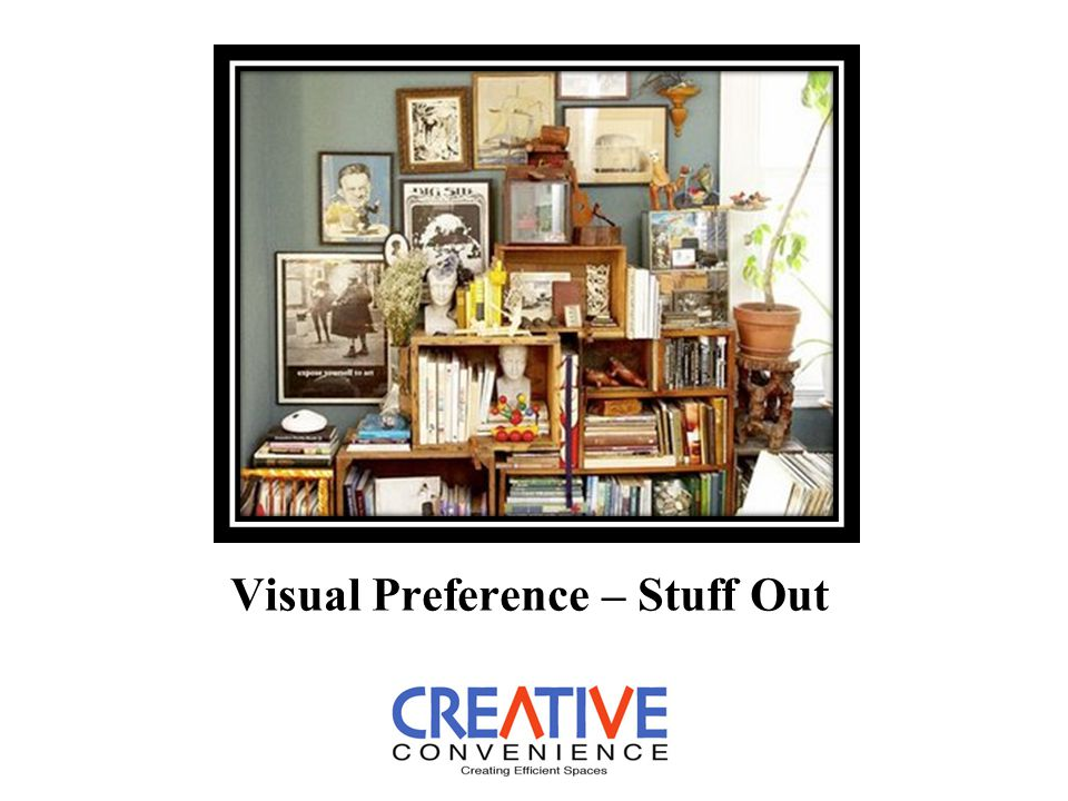 Visual Preference – Stuff Out
