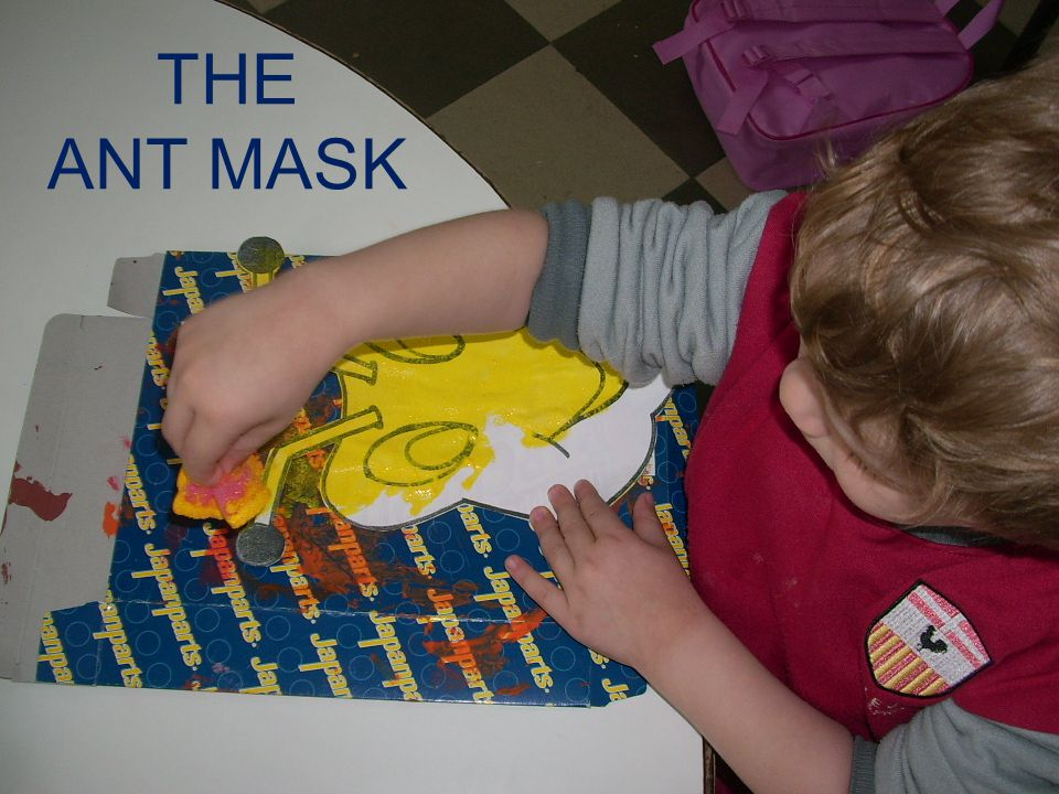 THE ANT MASK