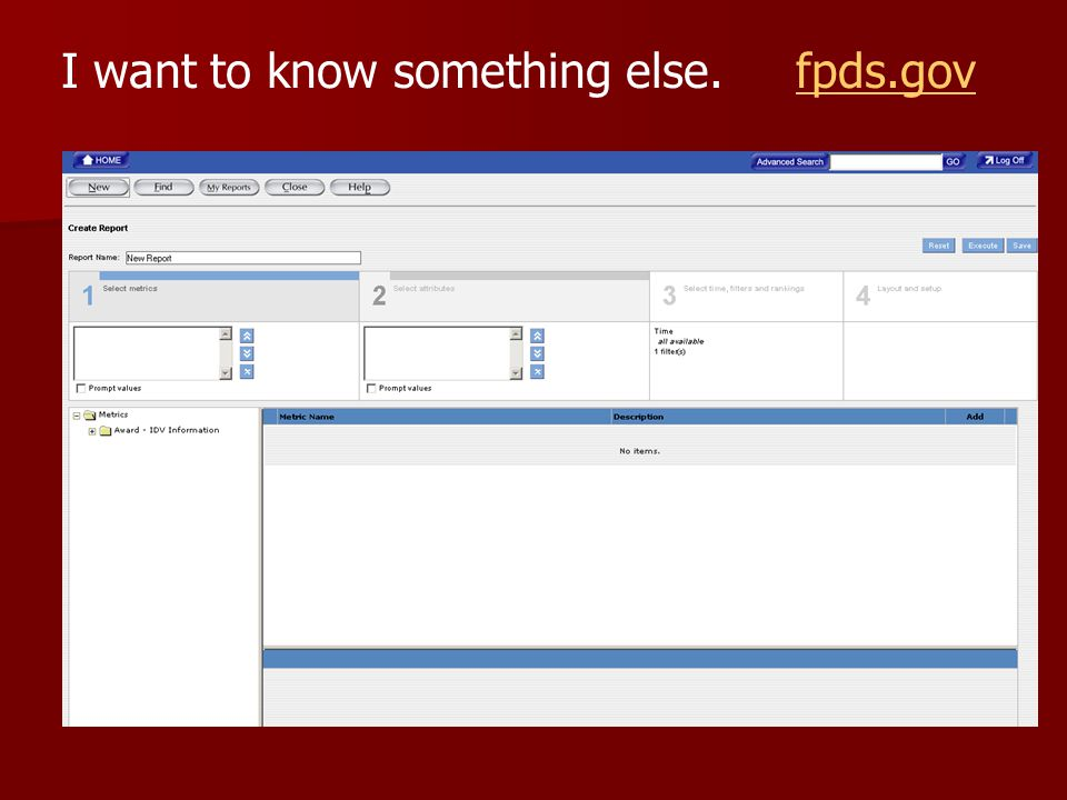 I want to know something else. fpds.govfpds.gov