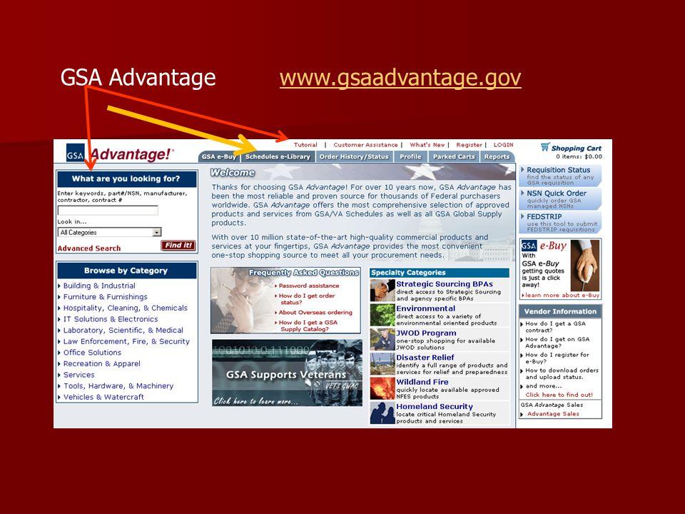 GSA Advantage www.gsaadvantage.govwww.gsaadvantage.gov