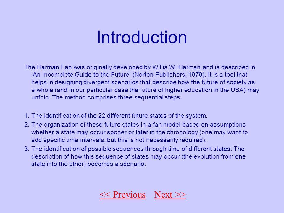<< Back to Fan Introduction The Harman Fan was originally developed by Willis W.
