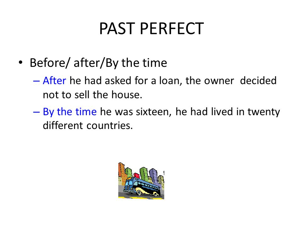 We use this tense when we want to show two past actions; one happened before the other.