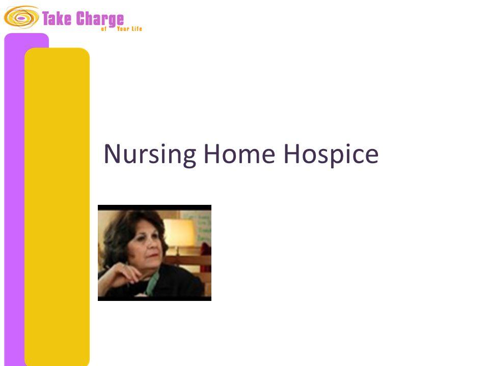 Nursing Home Hospice
