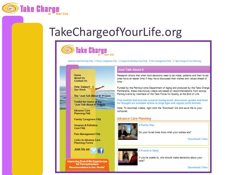TakeChargeofYourLife.org