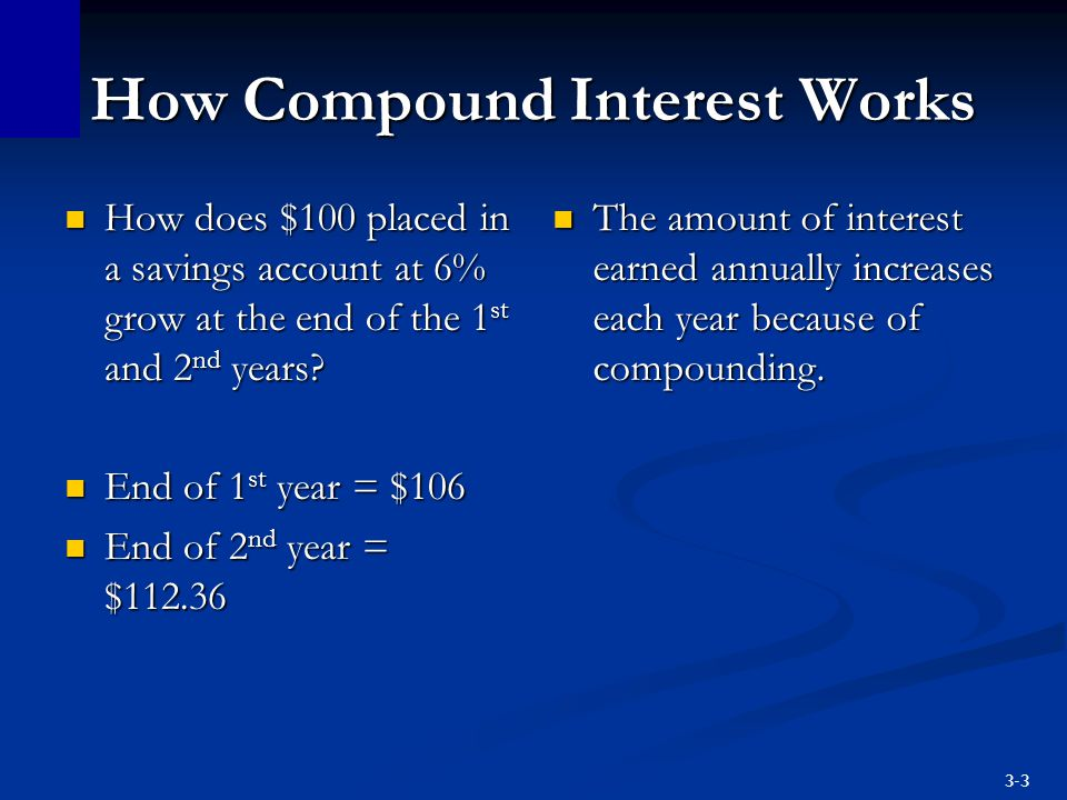 3-14 Present Value Finding present values means moving future money back to the present.