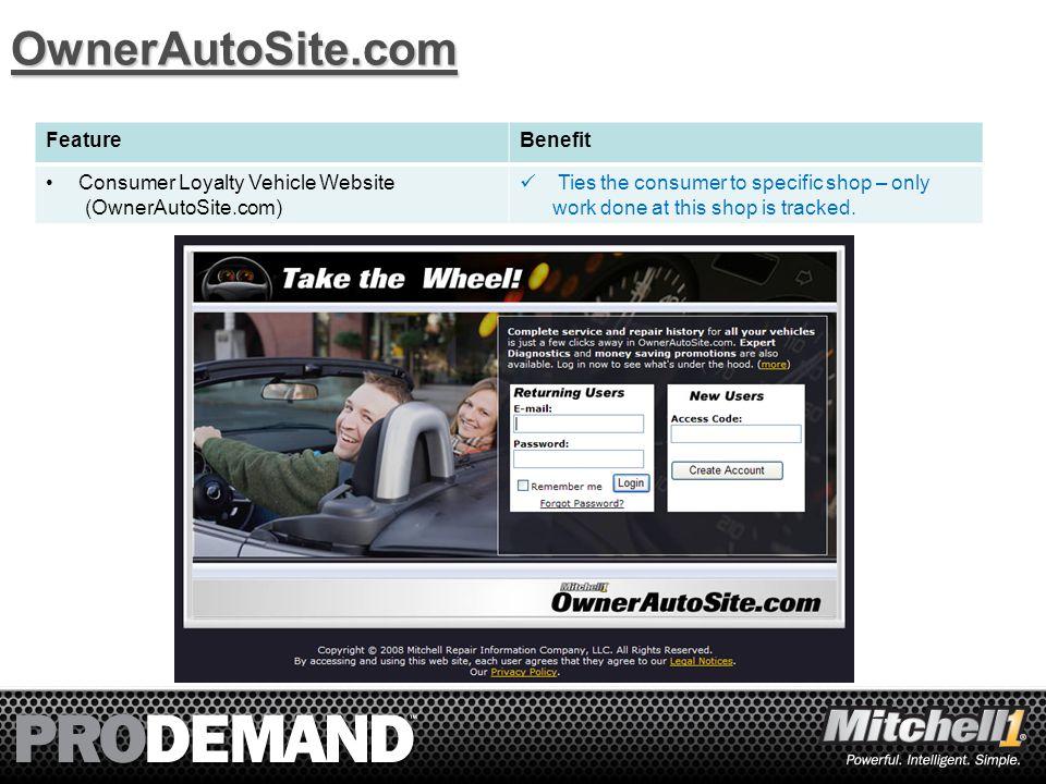 9 Service History OwnerAutoSite.com Optional