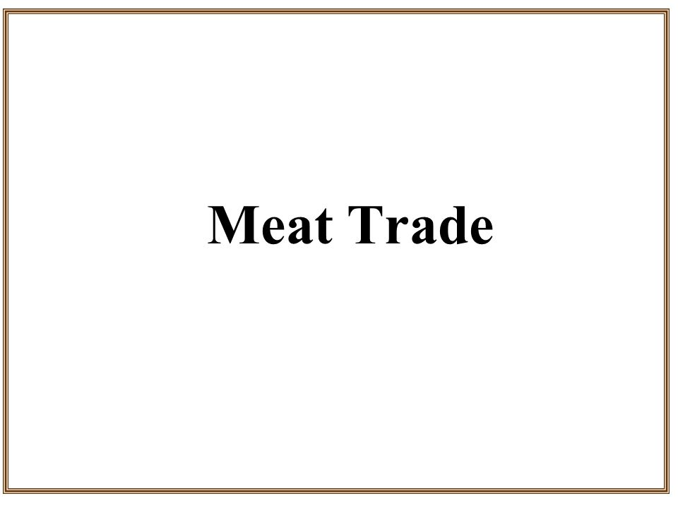 Meat Trade