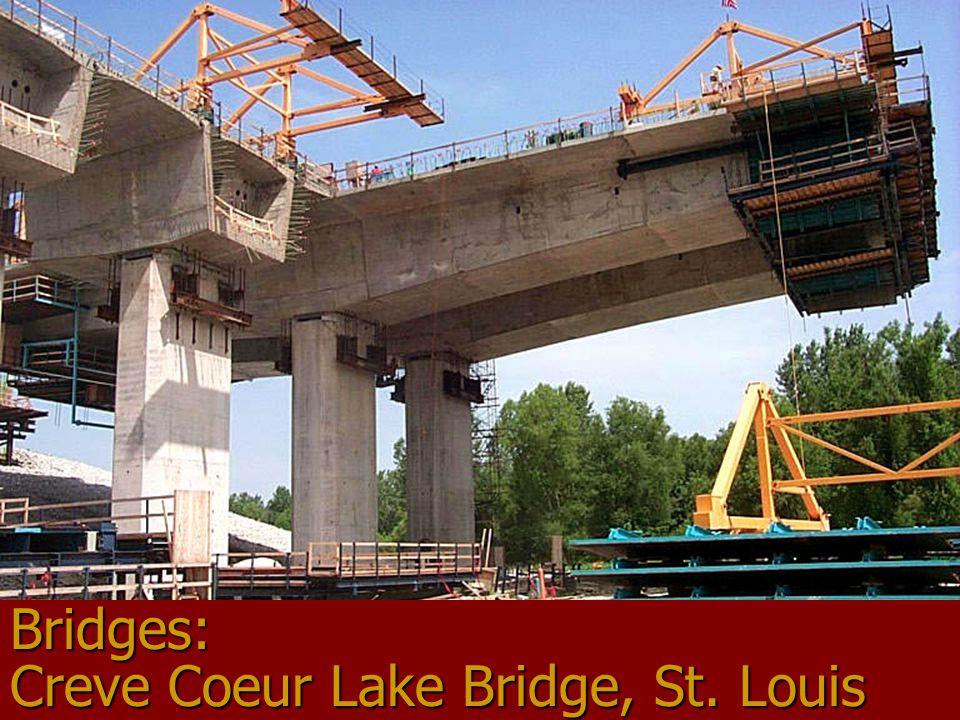 Bridges: Creve Coeur Lake Bridge, St. Louis