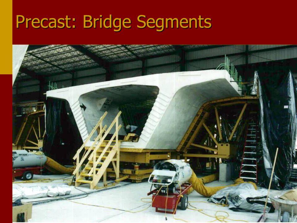 Precast: Bridge Segments