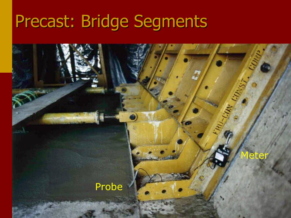 Precast: Bridge Segments Meter Probe