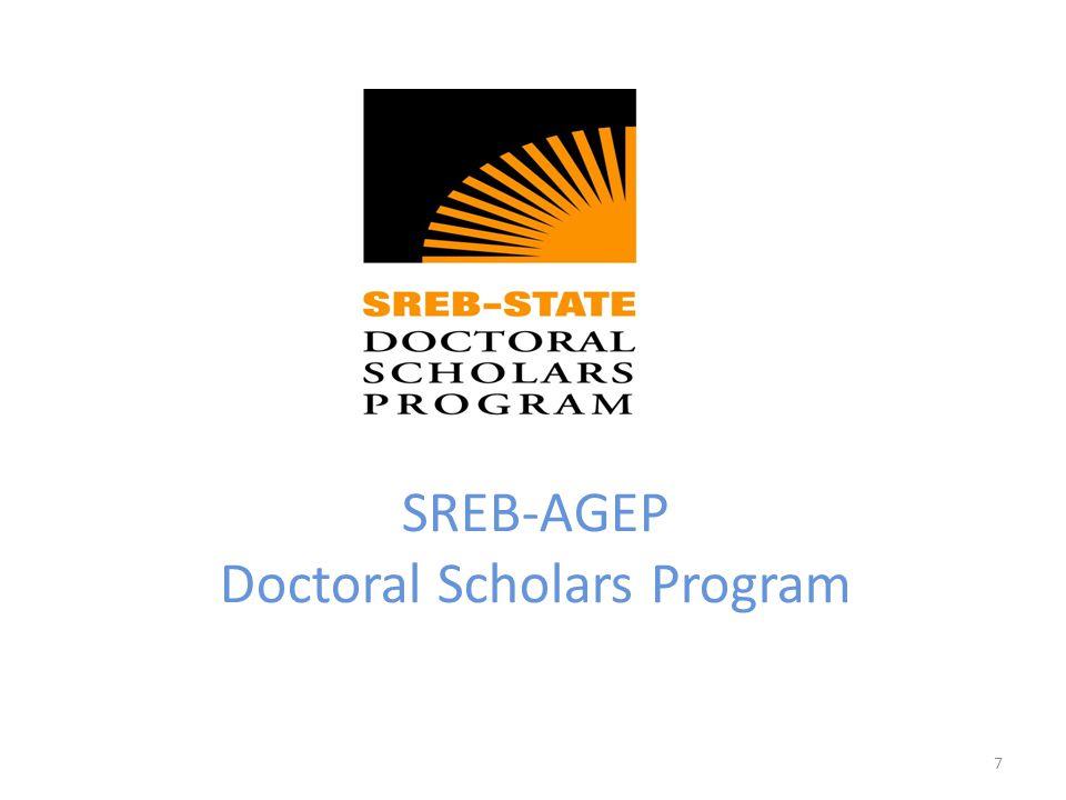 SREB-AGEP Doctoral Scholars Program 7